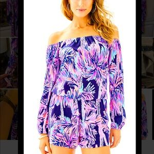 Lilly Pulitzer Gorgeous Romper small